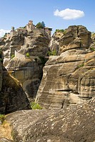 The Metéora ´suspended rocks´, ´suspended in the air´ or ´in the heavens above´ is one of the largest and most important complexes of Eastern Orthodox...
