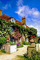Charleston Farmhouse in Sussex, Home of the Bloomsbury Group,