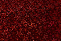 Starry night background _ in dark red