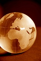 glass globe close_up sepia version