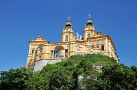 Melk Abbey or Stift Melk, UNESCO World Heritage Site, Lower Austria, Austria, Europe