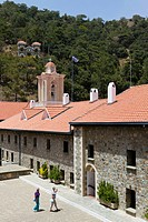 Kykkos Monastery, Troodos Mountains, Southern Cyprus, Greek Cyprus, Southern Europe
