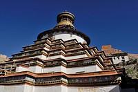 Kumbum, Paelkhor Monastery, Pelkhor Choede, Gyantse, Tibet, China, Asia