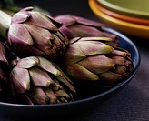 A bowl of artichokes
