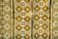 beautiful african cloth with rich pattern from Guinea_Bissau