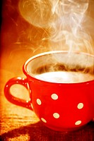 wonderful cup of hot coffee