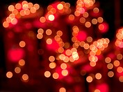 Abstract of bokeh for web page background