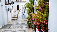 Town of Frigiliana, Málaga, Andalusia, Spain