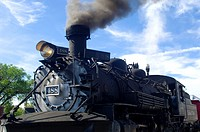 The Cumbres And Toltec Scenic Railroad Is A Coal Fired, Steam Powered Narrow Gauge Railroad That Travels From Chama, New Mexico To Antonito, Colorado.