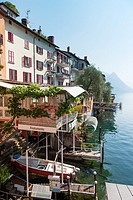 Switzerland  Canton Tessin  Lake of Lugano  Gandria.