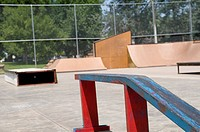 Skate Park in Belle Foursche, South Dakota