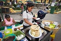 Antigua, Guatemala. Street food.