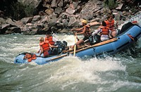 Arizona, Grand Canyon. White_Water Rafting