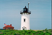 lighthouse located at Race Point , Massachusetts, United States