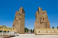 palazzo ak sarai o palazzo bianco, shakhrisabz, uzbekistan