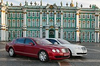 Bentley in St. Petersburg