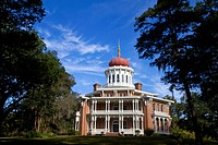 Longwood historic antebellum octagonal mansion located in Natchez, Mississippi, USA.