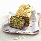 Spinach savoury cake
