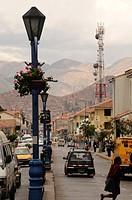 Maiin Street, Cuzco. Peru