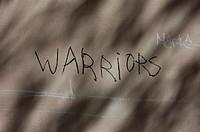 Graffiti Wall: warriors
