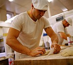 Baker at Work
