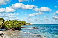 Beach, Hotel Occidental Royal Hideaway Ensenachos, Cayo Ensenachos, near Cayo Santa Maria, Cayerias del Norte, Cuba.