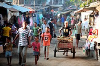 Der Fruechte und Gemuesemarkt in Dili der Hauptstadt von Ost Timor auf der in zwei getrennten Insel Timor in Asien.
