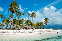 Sichirdup island isla Hormiga, San Blas Islands also called Kuna Yala Islands, Panama.