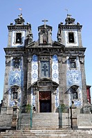Church, Igreja de Santo Ildefonso, Porto, Northern Portugal, Portugal, Europe