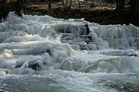 Selke waterfall, Harz District, Harz, Saxony_Anhalt, Germany / Selke, Wasserfall, Landkreis Harz, Harz, Sachsen_Anhalt, Deutschland
