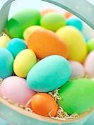 Easter Eggs In Trug