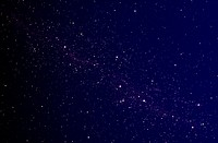 Stars on a Dark Blue Background