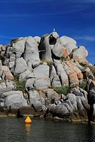 Rock formations, Lavezzi Islands Nature Reserve, Southern Corsica, Corsica, France, Europe