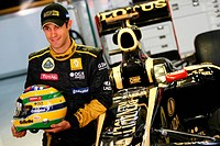 Bruno Senna BRA, Lotus Renault GP, F1, Indian Grand Prix, New Delhi, India