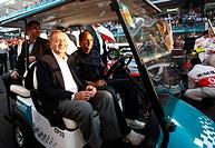 Race, Rey Juan Carlos and Gerard Bergerm AU, Ex F1 Driver, F1,Abu Dhabi Grand Prix, United Arab Emirates,Abu Dhabi.