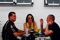 27.11.2011_ Bianca Senna BRA, sister of Bruno Senna BRA, Lotus Renault GP R31