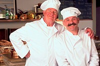 Two Bakers Posing