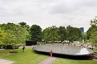 London´s 2012 Serpentine Pavilion designed by Swiss architects Herzog & De Meuron in collaboration with Chinese artist Ai Weiwei