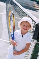 Cute Tennis Girl