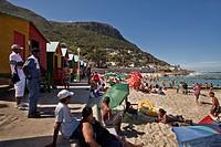 Muizenberg Beach, Muizenberg, False Bay, Cape Town, Cape Town, Western Cape, South Africa, RSA, Africa