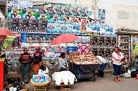 Street hawkers, Antananarivo, Madagascar