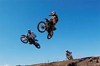 Motocross Racers Jumping Bike