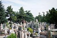 Italy, Milan, Cimitero monumentale