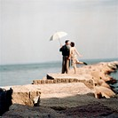Couple on Breakwater