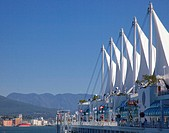 Canada Place situated on the Burrard Inlet waterfront of Vancouver is the home of the Vancouver Convention Center and the Pan Pacific Vancouver Hotel