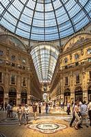Italy , Milano City , Vittorio Emanuele Galleries