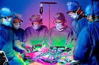 Glowing surgery
