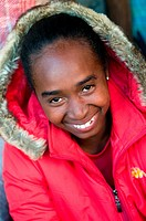 Woman in Antananarivo, Madagascar