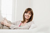 Germany, Berlin, Mature woman smiling, portrait