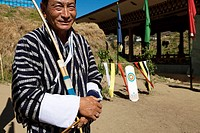 Archery, Bhutan´s national sport, Thimphu, Bhutan, Asia.